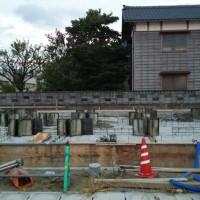 建設工事の様子